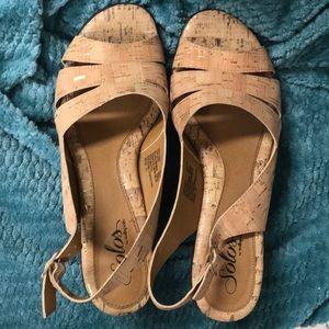 Cute nude heels